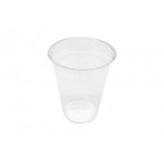 Clear Cup - PET - Kunststoffbecher - glasklar - 12oz/300ml