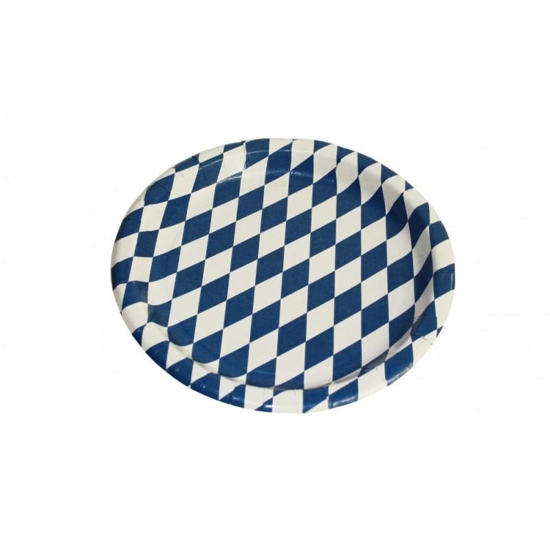 Pappteller oder pappschalen g nstig online kaufen auf www Pappteller blau