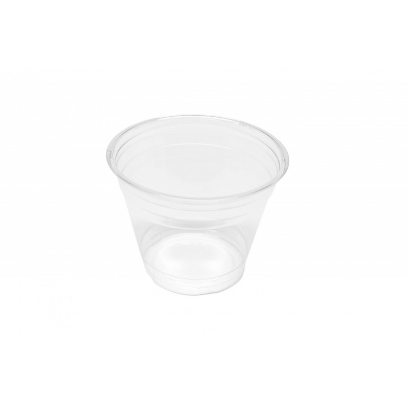 Clear Cup - PET - Kunststoffbecher - glasklar - 9oz/200ml