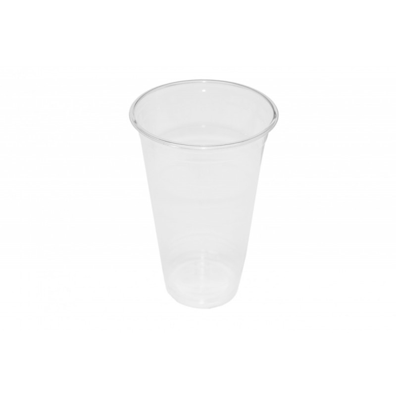Clear Cup - PET - Kunststoffbecher - glasklar - 20oz/500ml