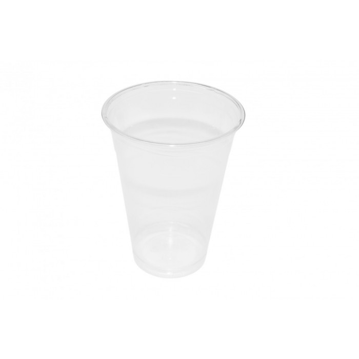 Clear Cup - PET - Kunststoffbecher - glasklar - 16oz/400ml